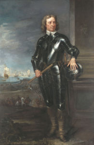 Portrait Of Oliver Cromwell (1599-1658), Lord Protector Of England by Christie's Images