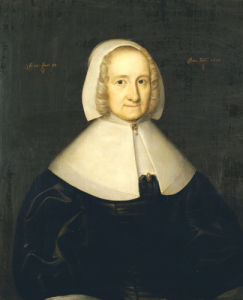 Portrait Of Lady Elisabeth Cromwell by English School