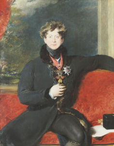 Portrait Of King George IV, C.1825 by Sir Thomas Lawrence