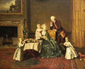 John, 14th Lord Willoughby De Broke And His Family, C. 1765 by Johann Zoffany