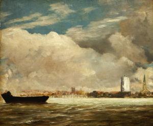 On The Thames Near Battersea Bridge, C. 1816 by John Constable