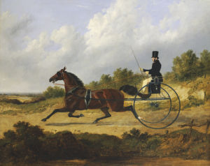 Confidence', Drawing A Gig Driven By A Groom, 1842 by John Frederick Herring