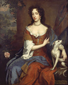 Portrait Of Mary Of Modena, Queen Of James II by William Wissing