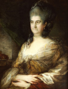 Portrait Of A Lady, Said To Be Elizabeth Chudleigh, Countess Of Bristol by Thomas Gainsborough