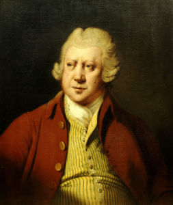 Portrait Of Sir Richard Arkwright, The Inventor and Industrialist (1732-1792) by Joseph Wright Of Derby
