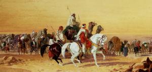 An Arab Caravan by John Frederick Herring