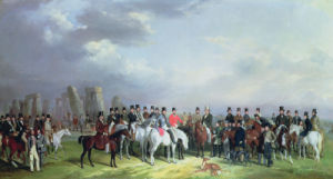 The Wiltshire Great Coursing Meeting Held At Amesbury by William Barraud