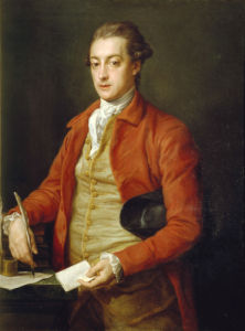 Portrait Of The Hon. Lionel Damer by Pompeo Batoni