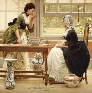 Pot-Pourri, Circa 1874 by George Dunlop Leslie