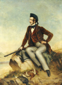 Portrait Of A Gentleman Thought To Be Prince Albert by William Smellie Watson