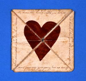 Puzzle Purse Valentine, c.1790 by Christie's Images