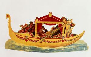 Gondola Valentine by Christie's Images