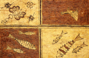 Melanesian Painted Bark Cloth Decorated With A Fowl by Christie's Images