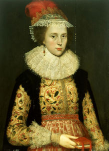 Portrait Of Margaret Layton Of Rawdon (1579-1662), Circa 1620 by English School