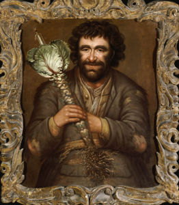 A Gardener Holding A Cabbage With A Candle, 1731 by Richard Waitt