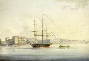 Quai De La Cour. Views Of St. Petersburg And Environs, 1821 by Christie's Images