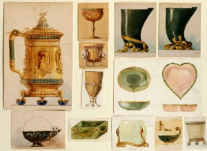 A Selection Of Designs From The House Of Carl Faberge by Christie's Images