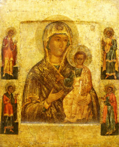 Mother Of God Smolenskaia, Possibly Novgorod School by Christie's Images