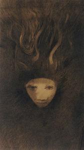 Meduse by Odilon Redon