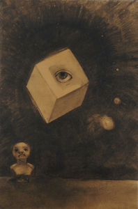 Eye by Odilon Redon