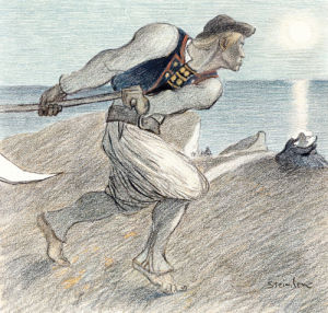 The Big Reaper by Theophile-Alexandre Steinlen
