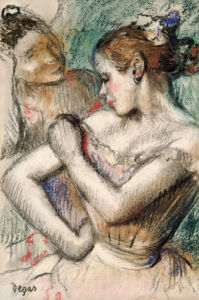 Dancers, 1896 by Edgar Degas