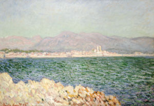 Golfe D'Antibes, 1888 by Claude Monet