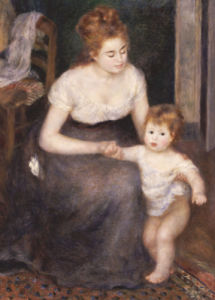 The First Step, 1876 by Pierre Auguste Renoir