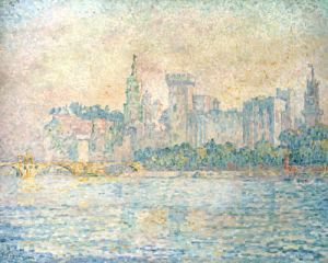 Avignon, Morning, 1909 by Paul Signac