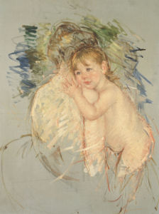 A Study For 'Le Dos Nu', 1906 by Mary Cassatt