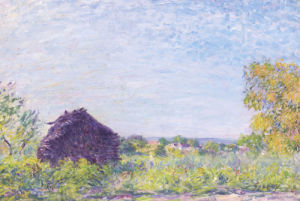 The Windmill At Paille. La Meule De Paille, 1877 by Alfred Sisley