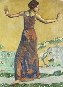 Joyous Woman, 1911 by Ferdinand Hodler
