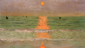 Sunset, 1913 by Felix Vallotton
