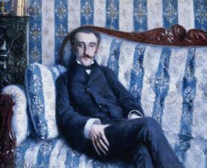 Portrait De Monsieur R., 1877 by Gustave Caillebotte