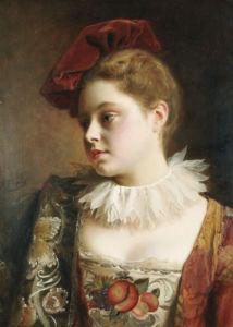 La Tocque Rouge by Jean Gustave Jacquet
