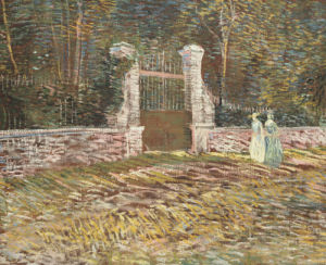 Entrance To The Voyer-D'Argenson Park At Asnieres, 1887 by Vincent Van Gogh