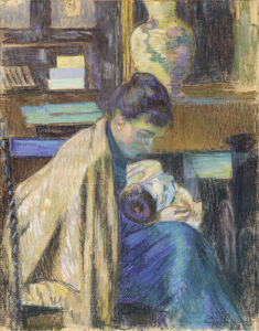 Madame Guillaumin Avec Madeleine, 1889 by Jean-Baptiste-Armand Guillaumin