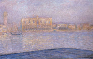 Le Palais Ducal Vu De Saint-Georges Majeur, 1908 by Claude Monet