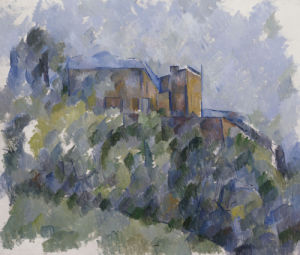 The Black House by Paul Cezanne