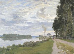 La Promenade D'Argenteuil by Claude Monet
