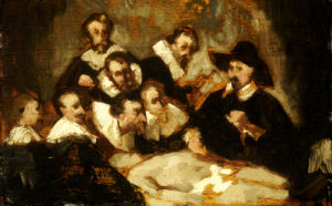 The Anatomy Lesson, Circa 1856 by Edouard Manet