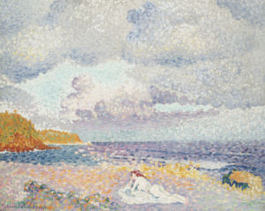 Before The Thunderstorm (The Bather), 1907 by Henri-Edmond Cross