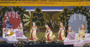 Illustration To The Gita Gorinda, c. 1720 by Christie's Images