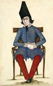 Nasir Al-Din Qajar As Crown Prince. Persia, C. 1845 by Christie's Images