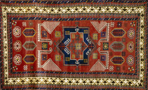An Antique Kazak Rug by Christie's Images