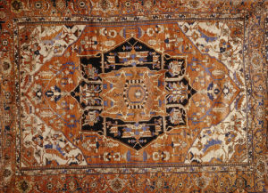 An Antique Heriz Carpet by Christie's Images