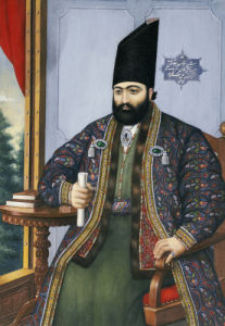 Portrait Of Mirza Taqi Khan (1807-1852), C. 1850 by Muhammad Hasan Afshar