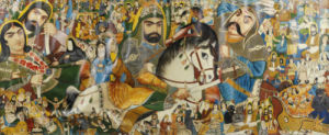 The Battle Of Kerbala. Hasan, Riding A White Horse by Christie's Images