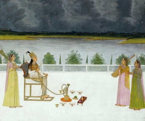 Portrait Of A Princess Seated On A Terrace. Sital Das. Lucknow, c.1789 by Christie's Images