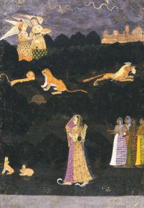 Krishnabhisarika Nayika, C.1750 by Christie's Images